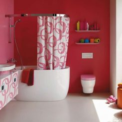 Marvelous Beautiful Pink Bathroom Ideas For Valentineu0027s Day By Laufen Ideas