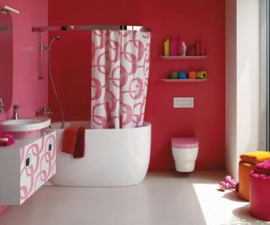 Beautiful Pink Bathroom Ideas for Valentine's Day by Laufen