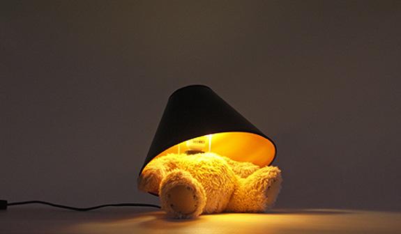 Teddy Bear Lamp By Matthew Kinealy