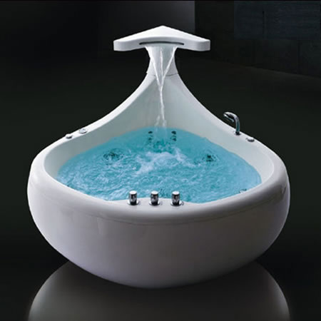 bath tub. Although it looks strange this Baleina bath tub is a nice combination of  the idea water and aquatic world You can imagine yourself that you are 10 Relaxing Bath Tubs
