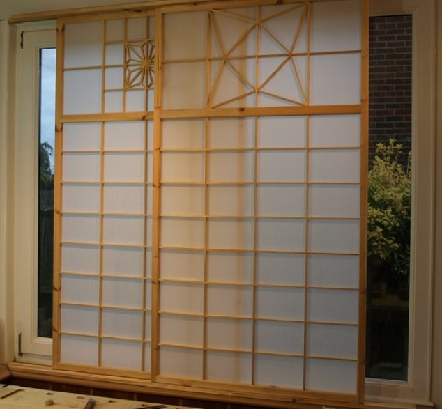 Use Folding Screens for More Privacy in a japanese bedroom