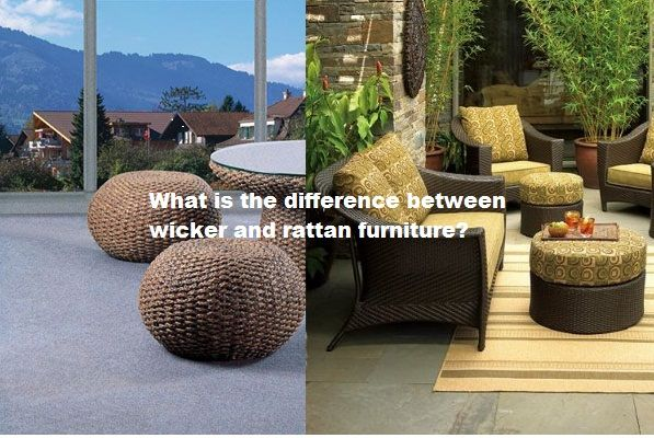 View in gallery - What Is The Difference Between Wicker And Rattan Furniture?