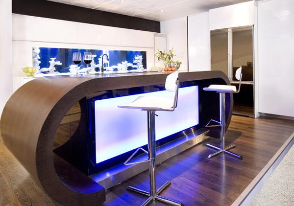Dynamic Aquarium Kitchen by Darren Morgan