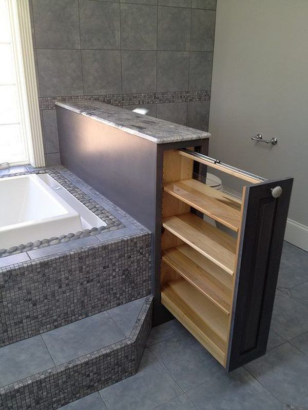 Pull Out Vertical Storage