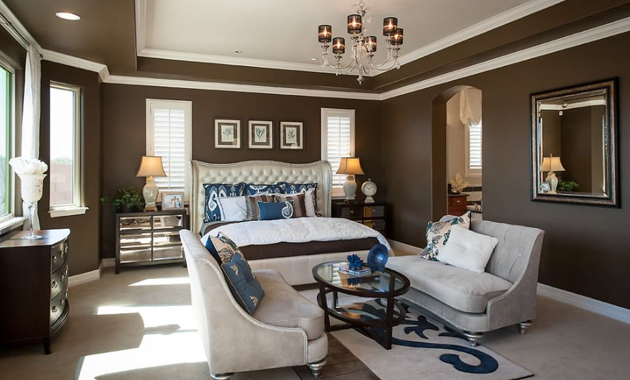 10 paint color options suitable for the master bedroom Brown and green master bedroom ideas