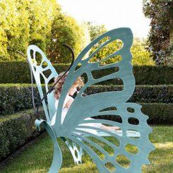 Wonderful Butterfly Bench Nice Design
