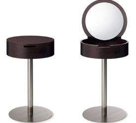 Café Table Dresser By Shin Azumi Café Table Dresser By Shin Azumi · Practical  Trieste Wine Storage Table
