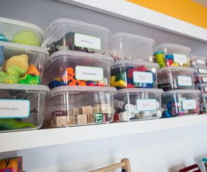 Solutions For Storing The Toys In The Kids' Playroom