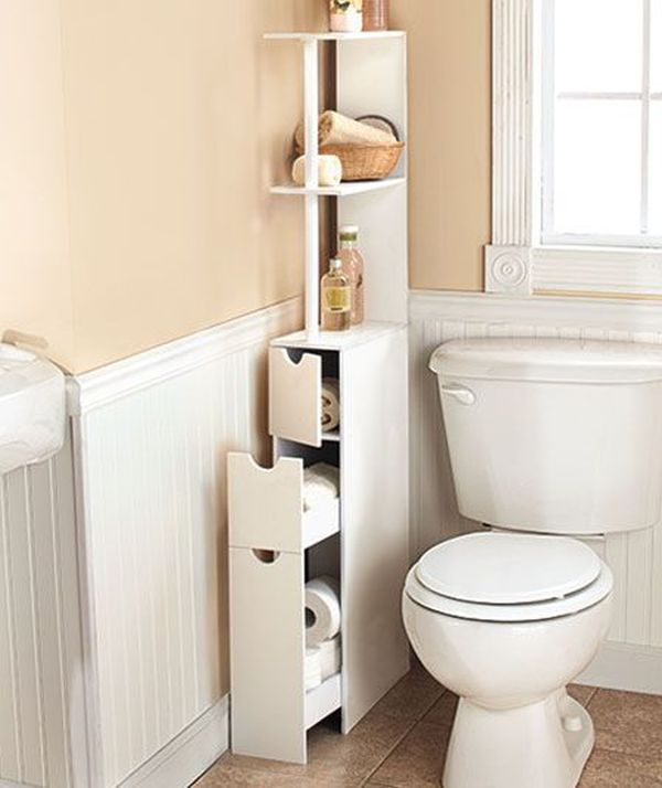 Creatively Add Storage To Your Bathroom