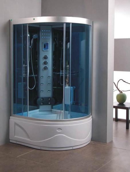 Deltri steam shower cabin and tub Bathtub showers for small bathrooms