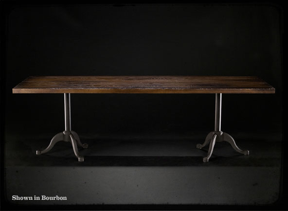 Beautiful Unfinished Wooden Double Table Great Pictures