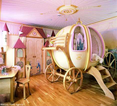 every little girl dreams of being a cinderella that finally she meets her charming princea bedroom based on such a lovely fairy tale will be marked by - Picture Of Bedrooms