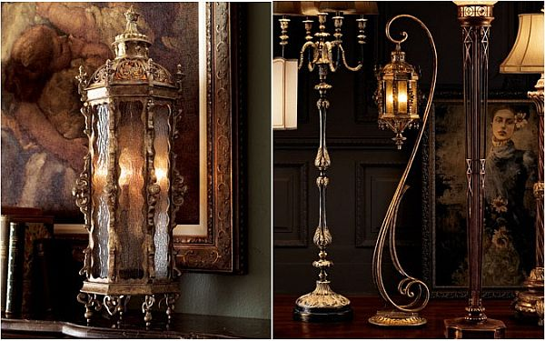 Gothic Floor And Table Lanterns By John Richard