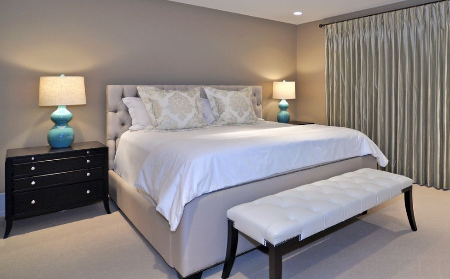 Grey  10 Paint Color Options Suitable For The Master Bedroom