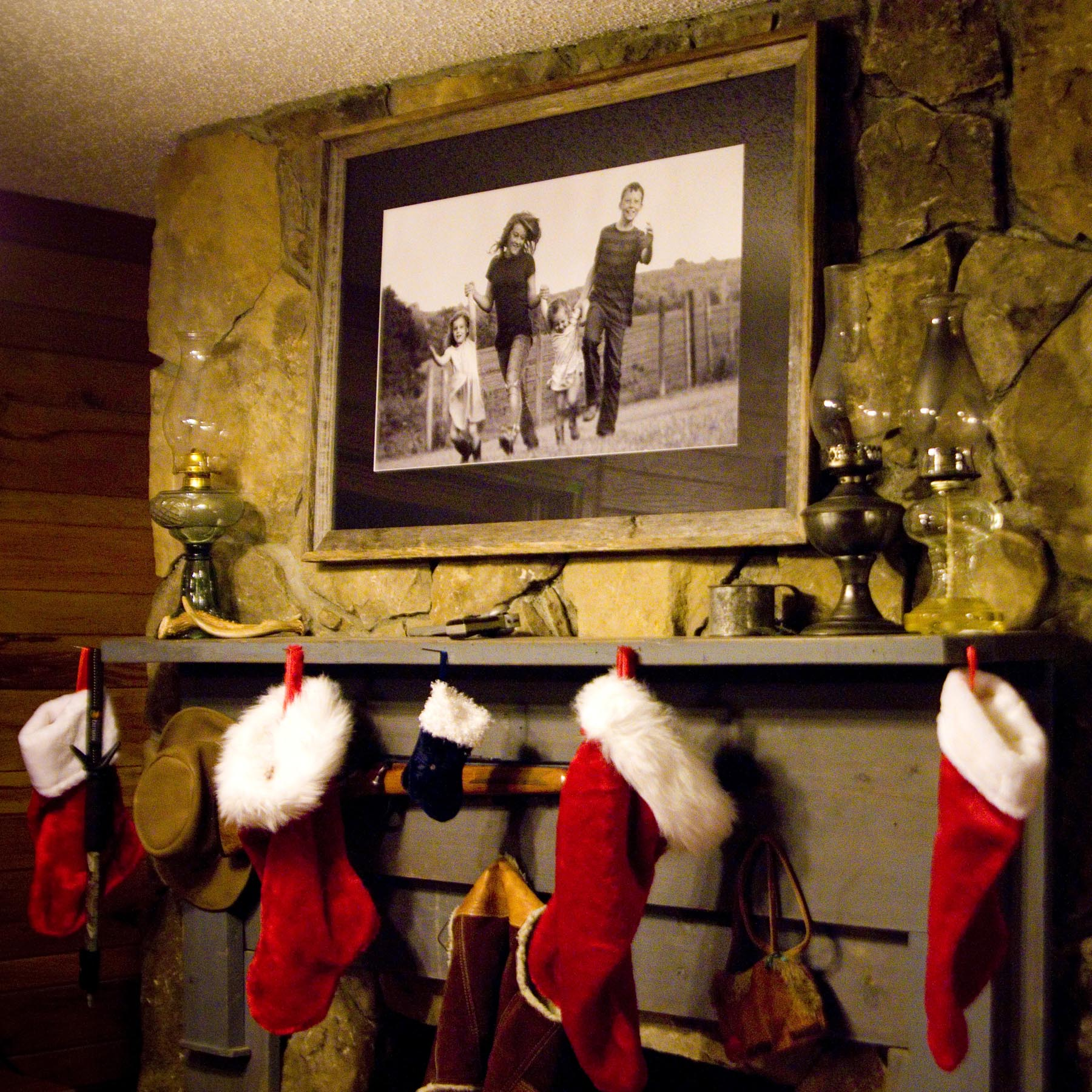 Where And How To Display Family Portraits
