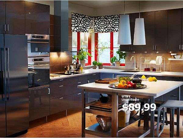 view in gallery - Kitchen Islands Ikea