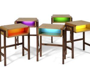 Useful Functional Night Light Table