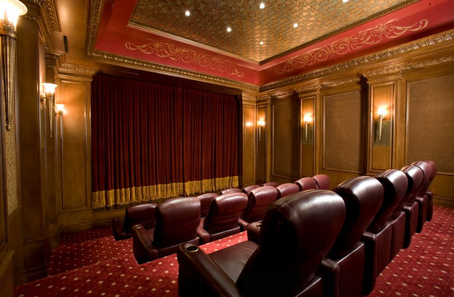 How to choose the right color for your media room - Best paint color for home theater ...