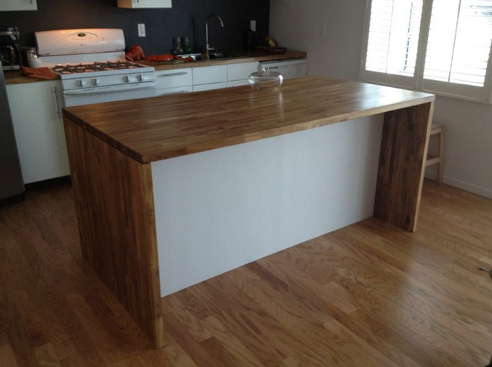 How To Make A Desk With Kitchen Cabinets