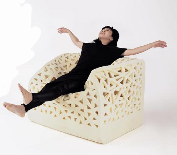 Charming Breathing Chair By Wu Yu Ying