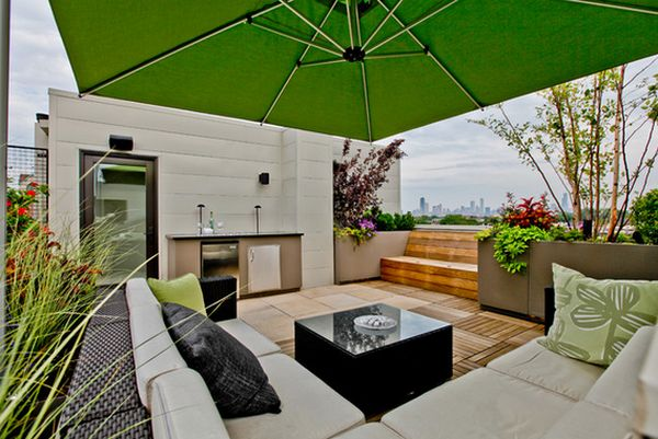 Difference between a terrace and a balcony in modern times for Balcony terrace
