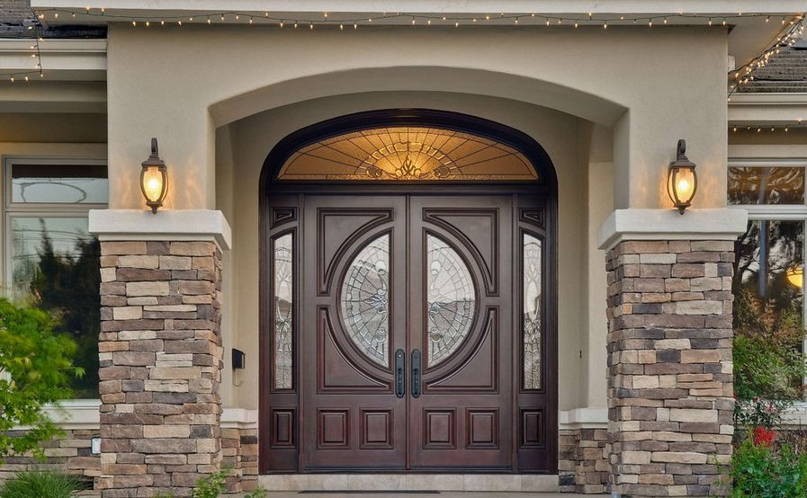 Types of glass that front doors can feature stained glass planetlyrics Images