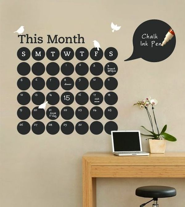 Diy Calendars To Use As Focal Points In Your Home