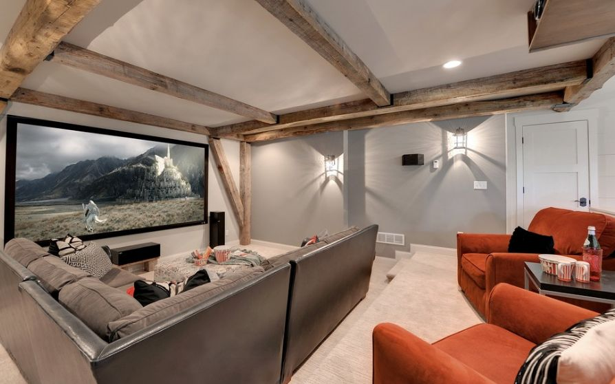How to choose the right color for your media room for House plans with media room