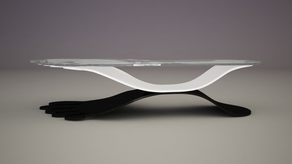 Step Coffee Table by Svilen Gamolov
