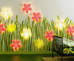 Smila Blomma Kids Wall Lamp from Ikea