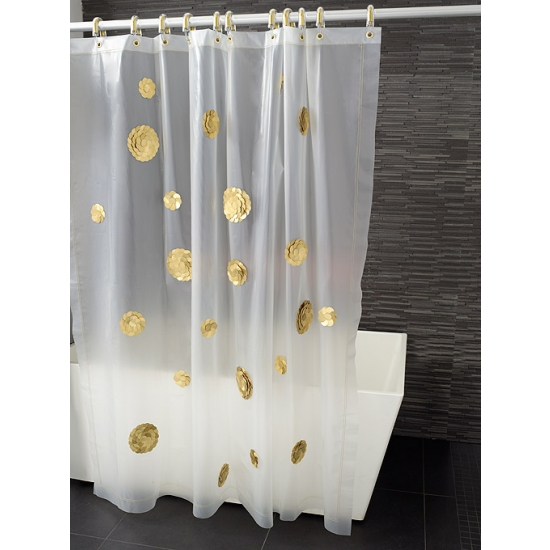 View In Gallery This Funny But Delicate Shower Curtain