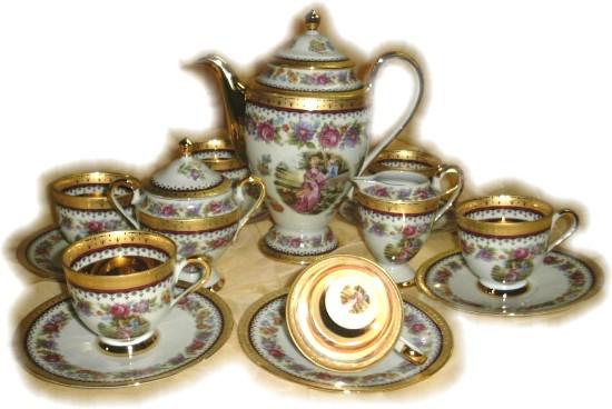 Tea Sets From Limoges Porcelain