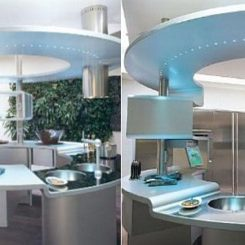 Superior The Perfect, Round Snaidero Acropolis Kitchen Nice Ideas