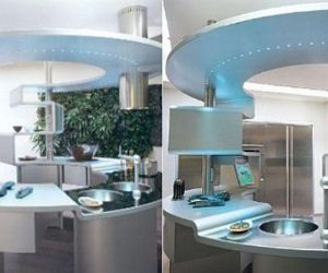 The Perfect, Round Snaidero Acropolis Kitchen