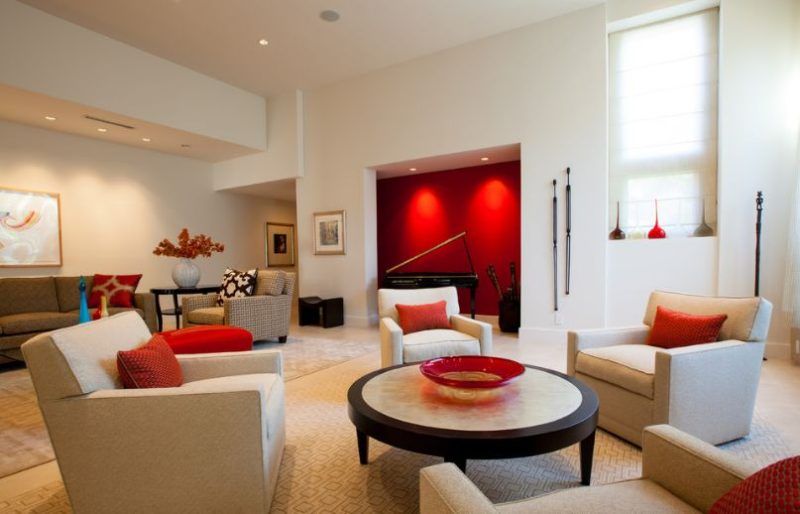 How To Add Red To Your Home Without Overdoing It