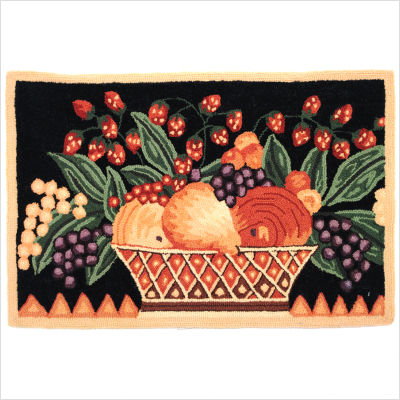 Fruit And Vegetable Rugs For The Kitchen Good Looking