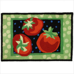Fruit And Vegetable Rugs For The Kitchen Design