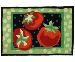 Fruit and Vegetable Rugs for the Kitchen