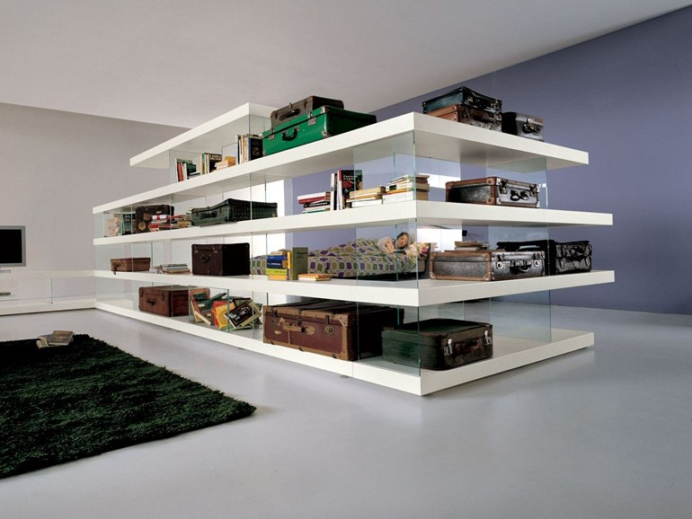 Air open bookcase
