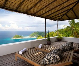 A tropical contemporary beach villa in Koh Tao, Thailand