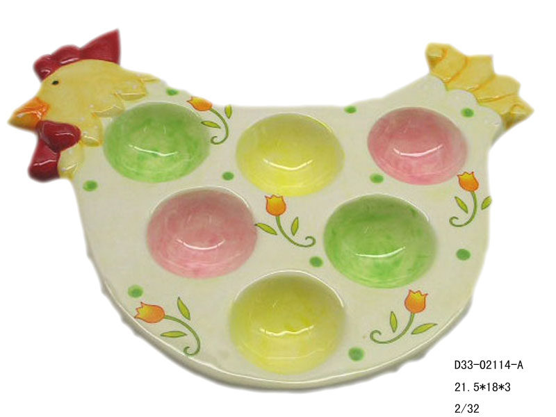 Special Easter Eggs Plate