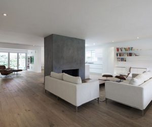 Minimalist California house with a neutral color palette