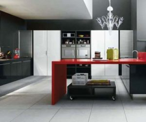 Elegant Minimalist Kitchen By Cesar