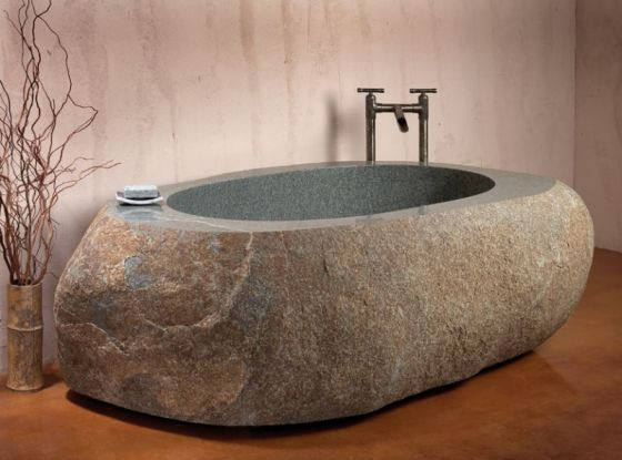 Natural Bathtub from Stone Forest
