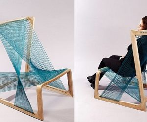 Friendly Silk Chair by Alvi Design