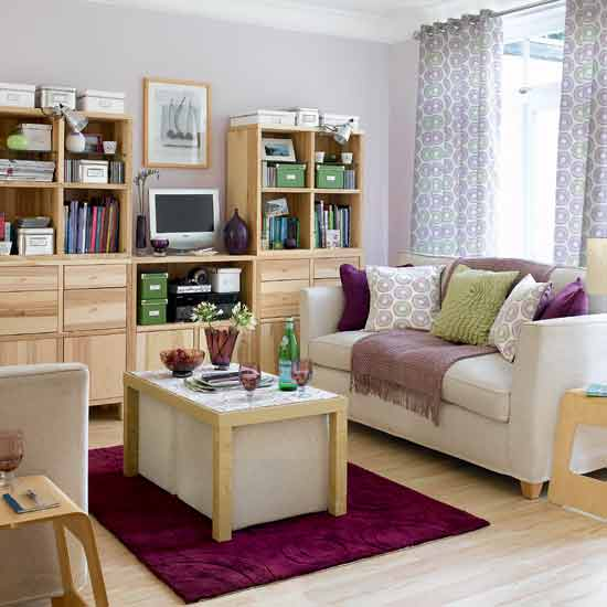 choose lightweight and compact furniture - Furniture For Small Spaces Living Room