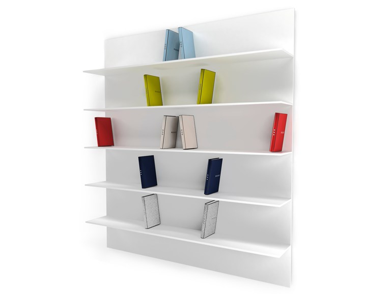 Wall mounted bookcase direttore