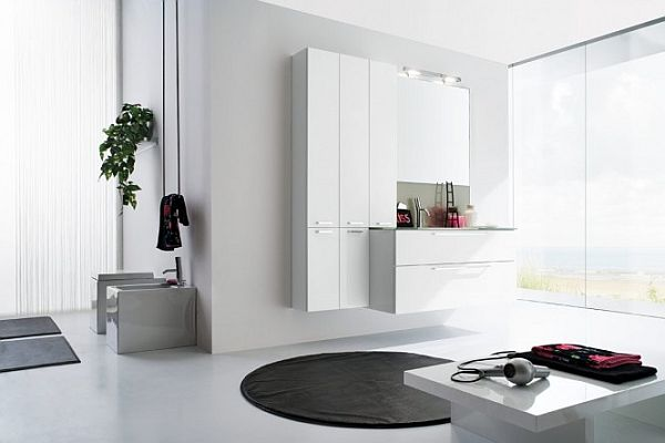 50 contemporary bathroom design ideas for All white bathroom designs