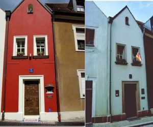 "The ""Little Wedding House"" in Amberg Germany – the smallest hotel in the world"