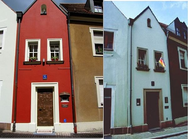 the little wedding house in amberg germany the smallest hotel in the world. Black Bedroom Furniture Sets. Home Design Ideas